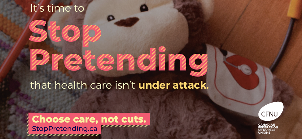Stop Pretending - Choose Care Not Cuts